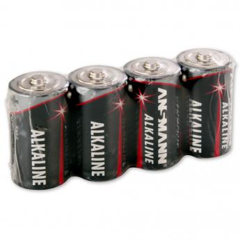 Alkaline baterijas, Baby, C, LR14, 4 gab.