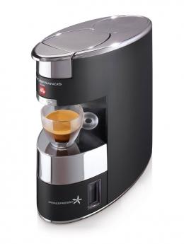 Kafijas automāts illy X9, alumīnija, melns